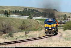 RailPictures.Net Photo: RCPE 6442 Rapid City, Pierre, & Eastern EMD SD40-2 at Sturgis, South Dakota by Nick Smith