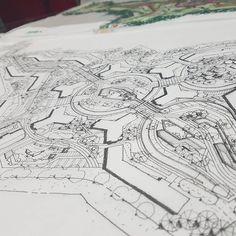 Wn project 20170619  #drawing #sketch #landscape #landscapearchitecture #artist #art #housing #insta #instalike #개더움