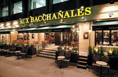you can see it all over Tokyo and it is reflected in restaurants such as Aux Bacchanales, a bistro serving classic brasserie food as well as patisserie desserts. French Bistro, Restaurant, Food, Eten, Restaurants, Meals, Dining Room, Diet