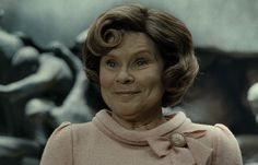 """Umbridge, giggling like a psychotic Jigglypuff. 