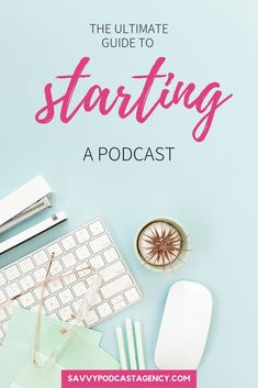 Starting a podcast doesn't have to be impossible so I'm sharing the ultimate guide to starting a podcast so that you can launch your podcast and start generating leads on autopilot. how to start a podcast Podcast Topics, Podcast Ideas, Starting A Podcast, Best Tweets, Content Marketing Strategy, Starting A Business, Online Business, Business Products, Business Ideas