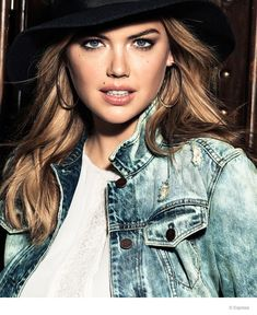 Kate Upton for Express Fall./Winter 2014