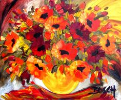 Artwork of Cornelius Bosch exhibited at Robertson Art Gallery. Original art of more than 60 top South African Artists - Since South African Artists, Cornelius, Traditional Paintings, Flower Art, Still Life, Poppy, Artworks, Original Art, Art Gallery
