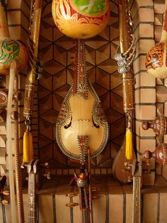 Musical Instruments- for the exotic journey