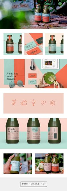 Min's Matcha Tea Branding and Packaging by Hype Group | Fivestar Branding Agency – Design and Branding Agency & Curated Inspiration Gallery