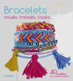 La mode est aux bijoux m lant fils cuir cha nes perles et strass toutes les techniques de - Bracelets bresiliens originaux ...