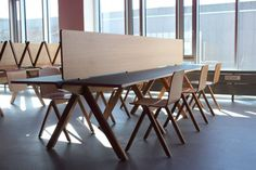 Copenhague series (table and chair), design Ronan & Erwan Bouroullec, HAY