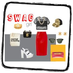 """swag"" by lenkafen on Polyvore"