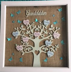 Personalised Grandchildren Family Tree