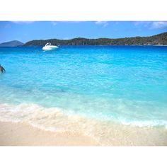 Coki beach Virgin Islands.  St Thomas snorkel spot