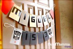 Rescue Bot Party Picnic Birthday, 4th Birthday Parties, Birthday Ideas, Themed Parties, Rescue Bots Birthday, Transformers Birthday Parties, Transformer Birthday, Party Characters, Diy Birthday Decorations