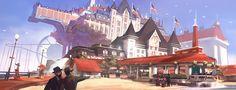 Bioshock Infinite: Boardwalk Beach by *Benlo on deviantART