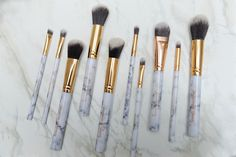 Inception Of Beauty Oval Brush Makeup Kit, Makeup Brush Set, How To Apply Concealer, Cruelty Free Makeup, Shape Design, Makeup Yourself, Brushes, Makeup Looks, Tools