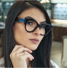 RETRO PERFECT Amber Tortoiseshell Round Clear Lens Glasses ladies semi cat eye