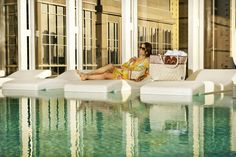 b cool by the pool this summer by purchasing your Cinda b Made in the U.S.A. bags at Geo.'s Quarters.
