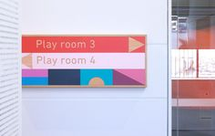 East Sydney Early Learning Centre by Toko, Australia. #signage #wayfinding