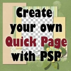 Creating a Quick Page with Paintshop Pro Corel Paint, Photo Cutout, Digital Scrapbooking, Scrapbooking Ideas, Checkerboard Pattern, Graphic Projects, Big Photo, Paint Shop, Love Photos