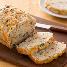 Gluten free but still #delicious! Try this GF buttermilk #cheddar #bacon bread!