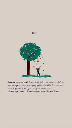 New Quotes Indonesia Motivasi Cinta Ideas New Quotes, Happy Quotes, Book Quotes, Words Quotes, Motivational Quotes, Life Quotes, Inspirational Quotes, Random Quotes, Qoutes