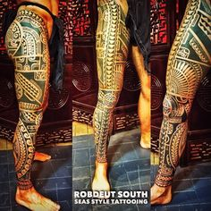 Maori Tattoos, Polynesian Leg Tattoo, Polynesian Tattoos Women, Filipino Tribal Tattoos, Polynesian Tribal, Maori Tattoo Designs, Marquesan Tattoos, Samoan Tattoo, Leg Tattoos