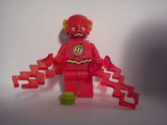 figurka FLASH batman xinh +klocek lego