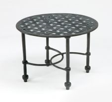 Three Coins Cast Crossweave Cast Auminum Cocktail Table by Three Coins Cast Mosaic Coffee Table, Round Coffee Table, Patio Table, Outdoor Tables, Outdoor Decor, Aluminum Patio, Pergola Kits, Pergola Ideas, Iron Table