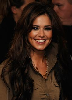 Cheryl Cole, brown wavy hair