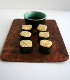 Avocado Sushi Rolls with Parsnip Rice - Create MindfullyCreate Mindfully