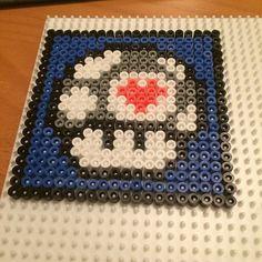 Portal mushroom coaster hama beads by aceciliaj