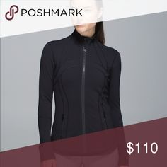 WEEKEND SALE - Lululemon Black Define Jacket VGUC, selling bc i'm looking for an 8. Happy to sell for less via 🅿️🅿️! lululemon athletica Jackets & Coats