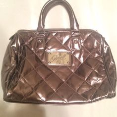Victoria secret pink angel bag silver gold purse Perfect new condition Victoria's Secret Bags Totes