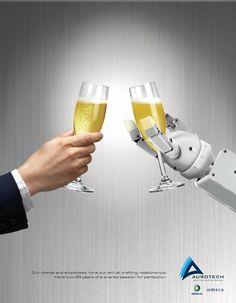 AUROTECH Robotics - Magazine Print ad Creative direction - Raymond Legaspi Art Direction - Allen M. Noche Final Artwork - Allen Noche
