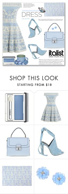 """""""Spring Trend, Off-Shoulder Dresses: 09/03/17"""" by pinky-chocolatte ❤ liked on Polyvore featuring Clinique, Alexander McQueen, Dolce&Gabbana, Kendall + Kylie, Givenchy and Dettagli"""