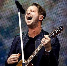 Ryan Tedder of #OneRepublic sings at Pinkpop Festival at Megaland in Landgraaf, Netherlands, June 14. (©Sascha Teschner)