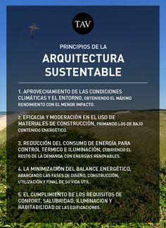 Principios arquitectura sustentable