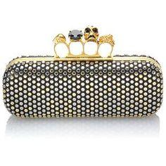 Alexander McQueen Studded Knuckle Duster Clutch | Alexander McQueen Handbags from Bag Borrow or Steal™