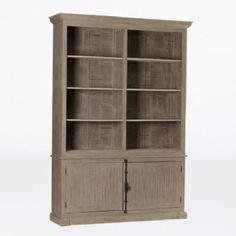 """63""""w Nolan French inspired Bookcase"""
