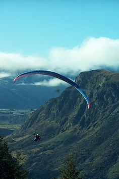 How lovely to hang glide in Queenstown