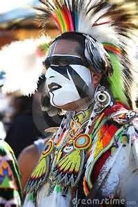 Bing Native American Indian dancer