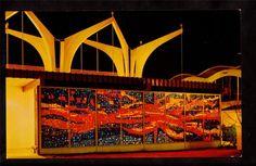 1962 Christian Pavilion Seattle's World's Fair Exposition Stamp Cancel Postcard