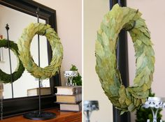 Bay Leaf Wreath (year round decor) | Make It and Love It