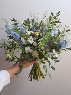 Wedding and Event floral stylist based in Bristol, UK, creating bespoke floral designs and arrangements for events across the South West My Flower, Wild Flowers, Beautiful Flowers, Wild Flower Bouquets, Fresh Flowers, Wedding Bouquets, Wedding Flowers, Wild Flower Wedding, Bridal Bouquet Blue