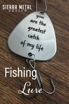 You are the Greatest Catch of My Life Fishing Lure Greatest Catch Fishing Lure Greatest Catch Gift For Husband Fishing Gift Idea For Boyfriend Valentines Day Birthday Anniversary Christmas