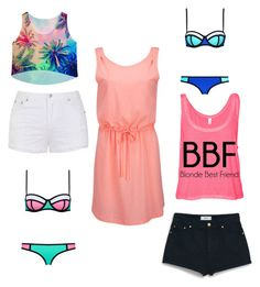 """Beach day"" by mary-mara on Polyvore featuring Ally Fashion, MANGO and ONLY"