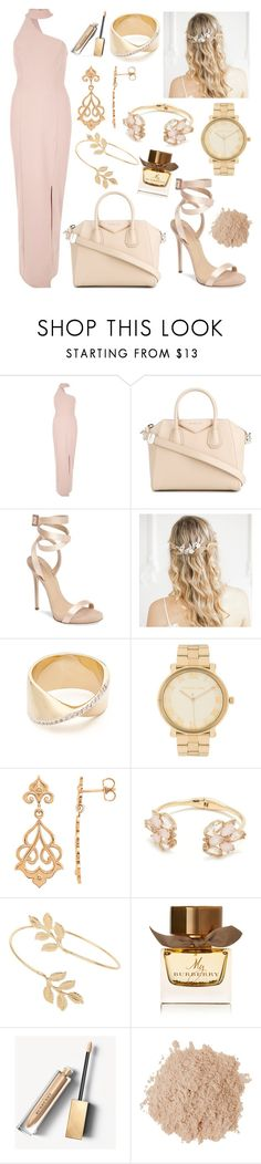 """""""Lovely lovely"""" by brittcmidfielder ❤ liked on Polyvore featuring River Island, Givenchy, Giuseppe Zanotti, Adina Reyter, Michael Kors, Kate Spade, Miss Selfridge, Burberry and Eve Lom"""