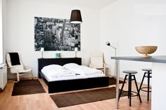 This cheap-but-gorgeous vacation rental is right on Brunnenstrasse. Be My Guest #Berlin