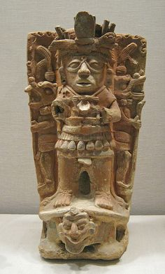 Censer Support Mexico: Maya, 8th-9th century