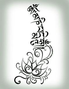 om mani padme hum tattoo….this might be my new tattoo