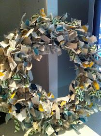 MidSouth Stagers: Fabric Scrap Wreath!