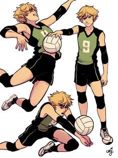 Adrien Volleyball AU